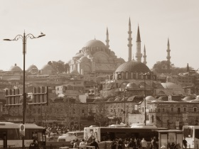 das frühere Konstantinopel